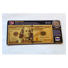 American Heritage Gold Banknote and Silver Set - 2009