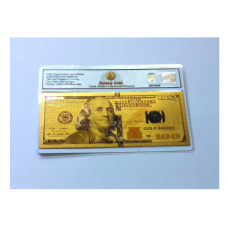 2009 $100 Gold Certificate Banknote