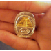 $100 Myan Pyramid Silver Doubloon