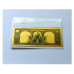 1901 $10 Gold Pressed Bison Banknote + Ingot Set