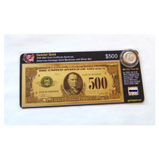 American Heritage Gold Banknote and Silver Set - 1928