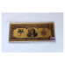 1899 $5 24k Gold Foil Indian Chief Banknote