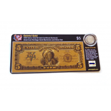 American Heritage Gold Banknote and Silver Set - 1899