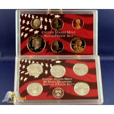 2005 U.S Mint Silver Proof Set