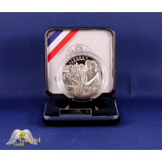 2007 P Jamestown Comm Silver Proof Dollar