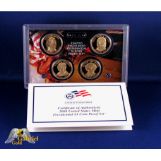 2008 Presidential 4 Coin Proof Set