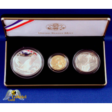 2008 W Bald Eagle Gold Commemorative Proof Set