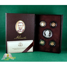 2009 Lincoln Bicentennial 5 Coin Signature Proof Set