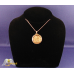 2.5g 24K Gold Flake Glass Rope Pendent