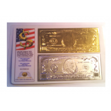 1933 Gold/Silver $1000 American Bank Note