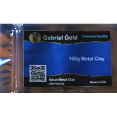 100 Gram .999 Silver Metal Clay - Finished Clay