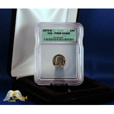 1970 S Roosevelt Proof Dime NGC MS-69