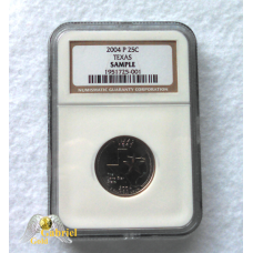 2004 P NGC Certified Texas State Quarter Sampler Coin