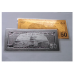 $50 - 24k Gold and Silver Banknote Set