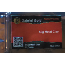 50 Gram .999 Silver Metal Clay - Finished Clay