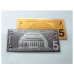 $5 - 24k Gold and Silver Banknote Set