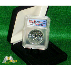 2010 $5 Silver Maple-leaf ICG FDI MS-70