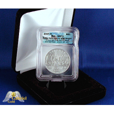 2007 P Little-Rock High Comm Silver $ICG MS-70