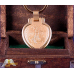 18k Gold Plated Lady Liberty Keychain Locket