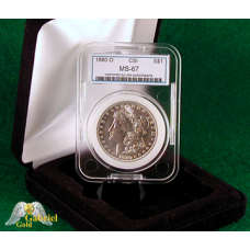1880 O Morgan Silver Dollar CSI MS-67