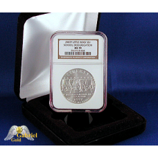 2007 P Little-Rock High Comm Silver $ NGC MS-70
