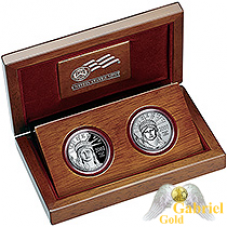 2007 10th Anni Platinum Eagle Coin Set