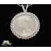 1928 Silver Peace Dollar Pendent