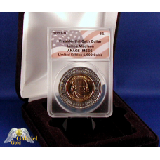 2007 D J. Madison Pres Oath $ ANACS MS-66