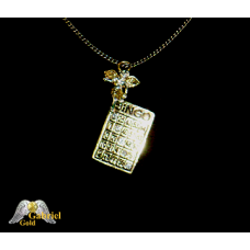 18Kt Gold Plated Bingo Pin and Pendent