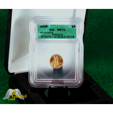 2005 W $5 Gold Eagle ICG MS-70