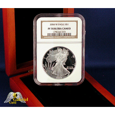 2004 W $1 Silver Eagle NGC PF-70