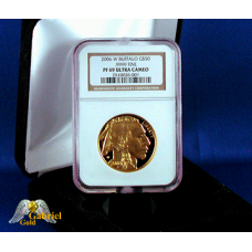 2006 W $50 Gold American Buffalo Proof PF-69