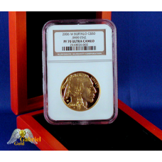 2006 W $50 Gold American Buffalo Proof PF-70