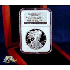 2006 W 20th Anni Silver Eagle PF-70