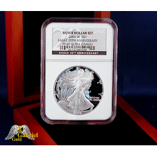 2006 W 20th Anni Silver Eagle PF-69