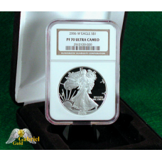 2006 W $1 Silver Eagle NGC PF-70