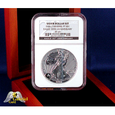 2006 P $1Reverse Proof Silver Eagle PF-69