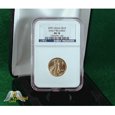 2007 $10 Gold American Eagle ER MS-70