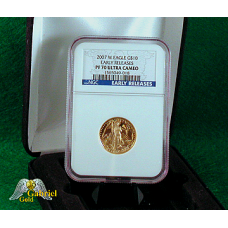 2007 $10 Gold American Eagle ER PF-70
