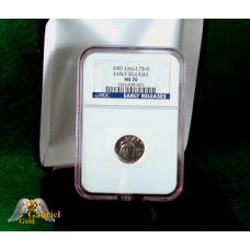 2007 $10 Platinum American Eagle ER MS-70