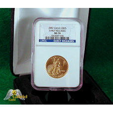 2007 $25 Gold American Eagle ER MS-70