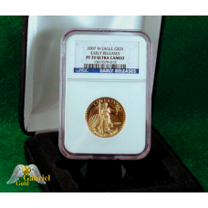 2007 $25 Gold American Eagle Proof ER PF-70