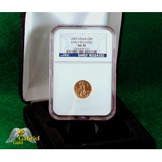 2007 $5 Gold American Eagle ER MS-70