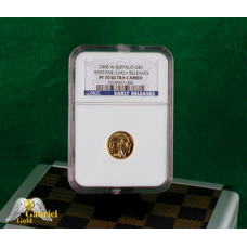 2008 W $5 Gold Buffalo Proof NGC PF-70 ER
