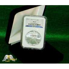 2010 P 25th Anniversary Silver Eagle MS-69 ER