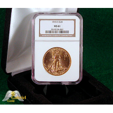 1915 S $20 Gold American Eagle MS-61