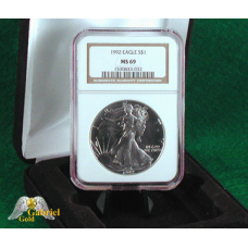 1992  American Silver Eagle NGC MS-69