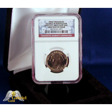 2007 D G. Washington Pres $ NGC FDI, BU.