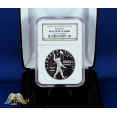 2006 P Ben Franklin Silver Proof $ (Scientist) NGC PF-69