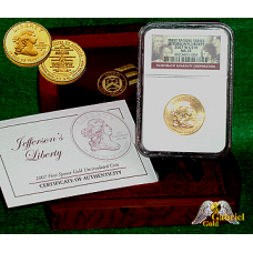 2007 Jefferson Liberty First Spouse Gold Coin NGC MS-70
